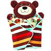 Zutano Swaddle Blanket, Bear by Nat and Jules