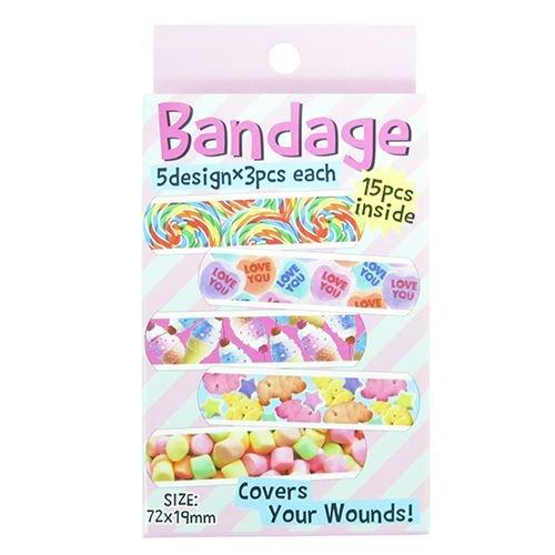 BANDAGE[衛生雑貨]ばんそうこう/絆創膏/POP SWEETS オクタニ バンドエイド 救急 グッズ 通販