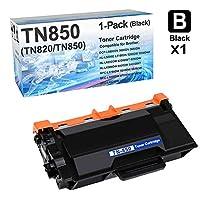 1パック 互換 HL-L6300DW プリンター トナーカートリッジ Brother TN-820 TN-850 トナーカートリッジ (ブラック、大容量)