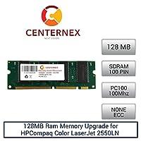 128MB RAMメモリfor HPCompaq Color LaserJet 2550ln ( pc100) ( c9121a )プリンタメモリアップグレードby US Seller