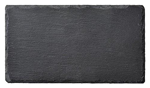 スレートプレート 23cm 長角皿 天然石 スレートボード
