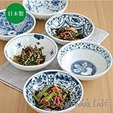 藍凛堂 4寸取り鉢 (13.5cm) (濃牡丹)