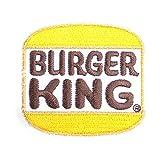 ノーブランド品 BURGER KING バーガーキング COMPANY ワッペン 白 黄色