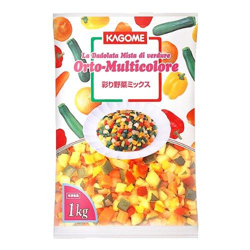 カゴメ 冷凍野菜 彩り野菜ミックス 1kg 冷凍