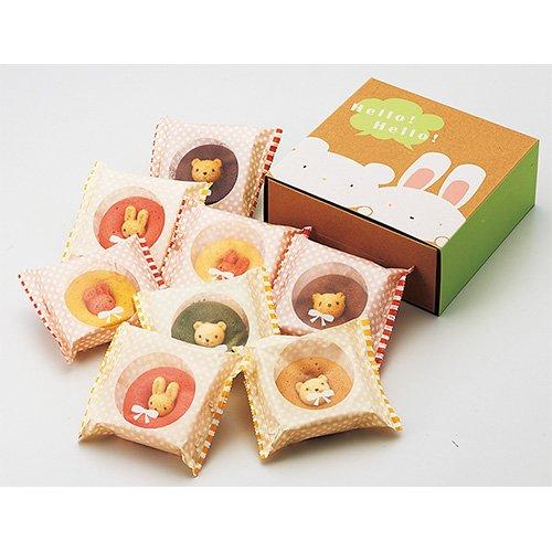 カリーノ ギフト お菓子 アニマル ドーナツ 8個