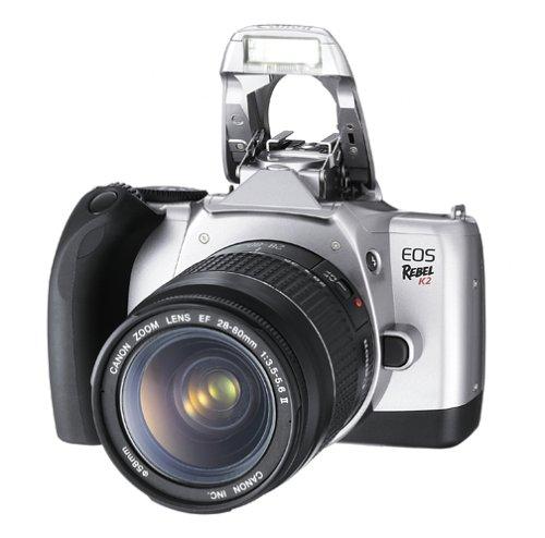 キヤノン(Canon) シルバー 一眼レフ フィルムカメラ