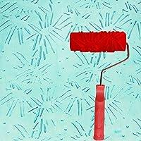 エンボスローラー、液体壁紙壁アートアートペイント印刷珪藻土泥テクスチャアート塗料建設ツール5インチ (色 : C)