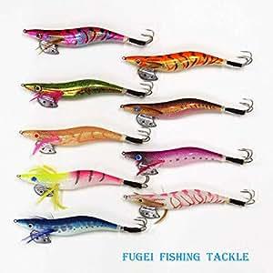 釣具 蛸タコ釣り 4.0号 エギ 9カラー 9本 セット A20takoegi40h9F エギング 仕掛け タコエギ