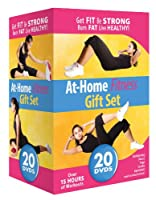 At-Home Fitness Gift Set - 20 DVD Collection