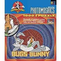 Buffalo Games Warner Bros Photomosaic Bugs Bunny 1000ピースジグソーパズル