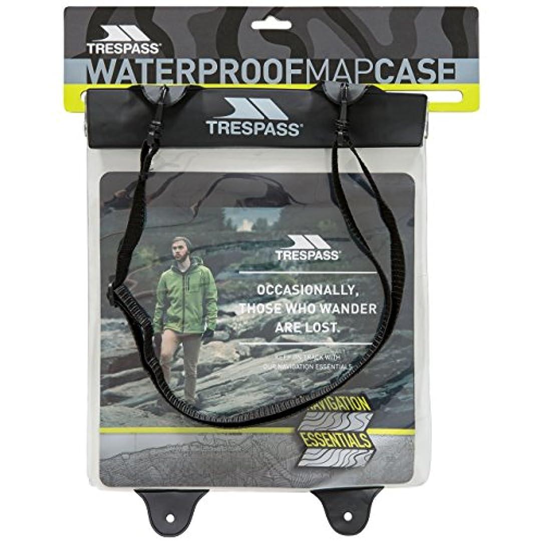 葉を拾う織るリア王(トレスパス) Trespass NSEW マップケース 地図用ケース アウトドア 防水 ケース トレッキング