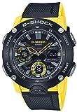 カシオ G-Shock カーボンコアガード ブラック イエロー メンズウォッチ GA-2000-1A9ER 49mm メンズウォッチ