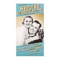 Hallmark 25488362 ミディアム「Lifetime of Happy Years」ウェディングカード