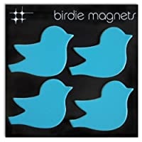 Three by Three Seattle Birdie磁石(パックof 4)