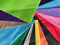 shopinusa Buyバルク、( 10パック色) Eco Friendly Promotionalトートバッグ、会議トートバッグ不織布ポリプロピレン