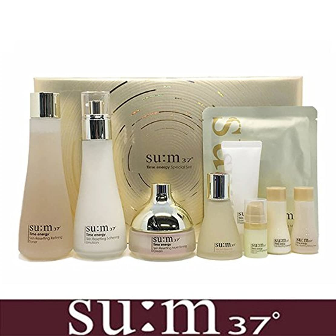 フラスコベッド脅威[su:m37/スム37°] SUM37 Time Energy 3pcs Special Skincare Set / タイムエネルギーの3種のスペシャルセット+[Sample Gift](海外直送品)
