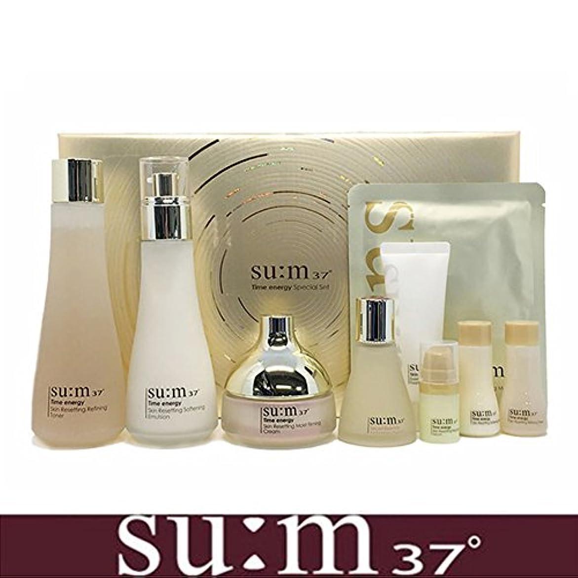 観光外科医言い訳[su:m37/スム37°] SUM37 Time Energy 3pcs Special Skincare Set / タイムエネルギーの3種のスペシャルセット+[Sample Gift](海外直送品)