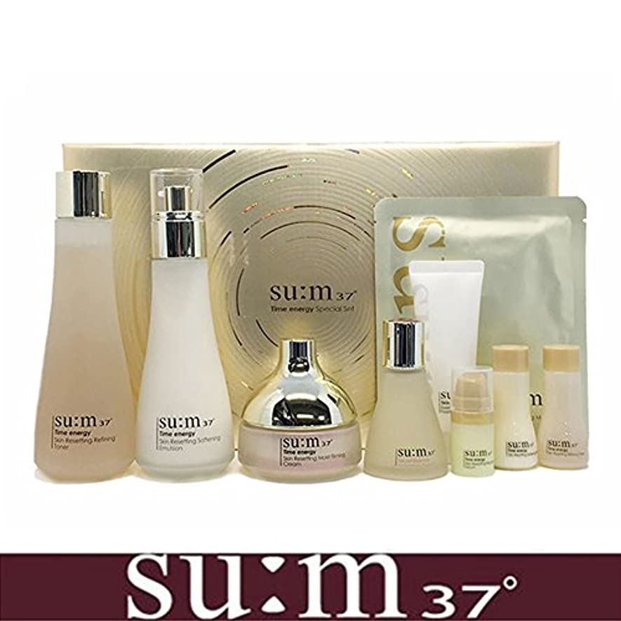 独立して上院議員エイズ[su:m37/スム37°] SUM37 Time Energy 3pcs Special Skincare Set / タイムエネルギーの3種のスペシャルセット+[Sample Gift](海外直送品)