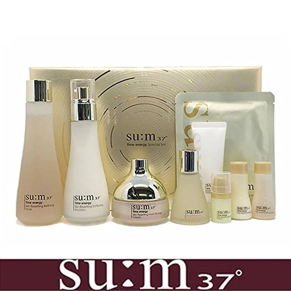 小道具これら珍しい[su:m37/スム37°] SUM37 Time Energy 3pcs Special Skincare Set / タイムエネルギーの3種のスペシャルセット+[Sample Gift](海外直送品)