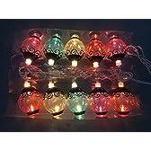 OBEST クリスマスライト 室内装飾 イルミネーションライト 10灯 クリスマスツリー 壁 窓 ドア 床 木 草など場所に最適 (提灯)