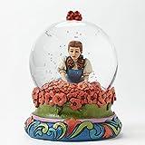 4045416 Wizard of Oz Spell Broken Dorothy in Poppy Field 100 MM Snow Globe オズの魔法使い スノーグローブ Jim Shore社【並行輸入】