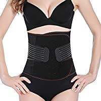 TUOY Postpartum Belly Band Postnatal Girdle Support Recovery Belly Wrap Body Shapewear