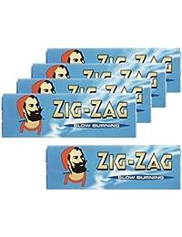 zig-zag ジグザグローリングペーパー #78832 ブルーシングルx5p 手巻き用巻紙 喫煙具