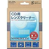朝日電器 (業務用セット) ELPA レンズクリーナー CD用 湿乾両用 CPA-W202 (×10セット)