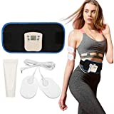 DHINGM Electric Heating Belt Massage Belt, Improve Blood Circulation, Promote Metabolism, Relieve Fatigue and Muscle Soreness, Easy to Use and Relieve Stress, Easy to Enjoy Thin