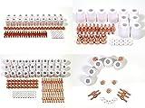 プラズマ カッター 消耗品 4種 各 5 10 20 30 個 セット から選べる セラミックカップ チップ カラー ノズル 切断機 トーチ メンテ 交換 用 CUT 40 CT 416 (5個セット)