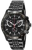 [グッチ]GUCCI 腕時計 G-TIMELESS ブラック文字盤 ステンレス(BKPVD) クロノグラフ YA126258 メンズ 【並行輸入品】