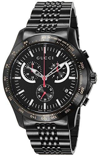 [グッチ]GUCCI 腕時計 G-TIMELESS ブラック...