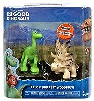 Disney The Good Dinosaur Arlo & Forrest Woodbrush Mini Figure 2-Pack
