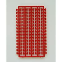 プラモブロック シート1×2 レッドRD