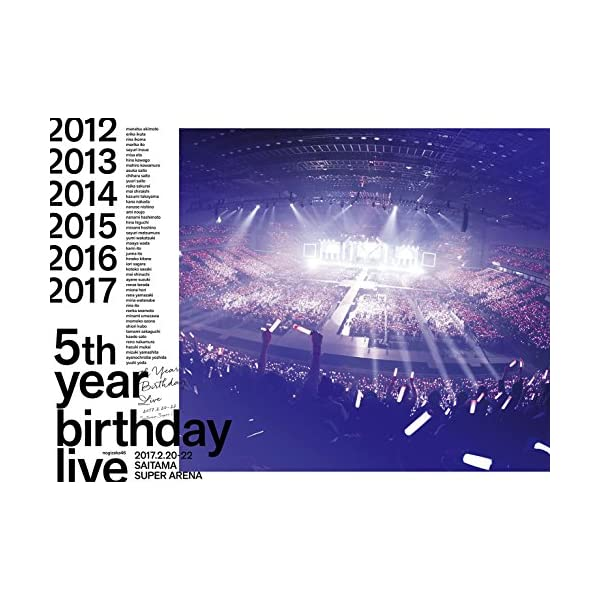 5th YEAR BIRTHDAY LIVE 2...の商品画像