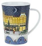 英国 Harrods(ハロッズ) クリスマス・イン・ロンドン マグカップ 英国製陶磁器 Christmas In London [並行輸入品]