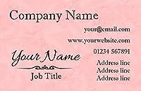 コーラルShade Personalizedビジネスカード 1000 Business Cards