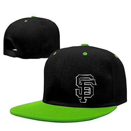【エクセル】ユニセックス 野球帽 サンフランシスコ・ジャイアンツプラチナ ロゴ ヒップホップ ベースボールキャップ 100%綿製 ストリート系 ファッションリーダー 小顔効果 調節可能 5カラー