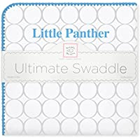 SwaddleDesigns Ultimate Swaddle Blanket Made in USA Georgia State University Little Panther [並行輸入品]