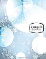 Winter Snowflakes Sketchbook