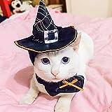 Wooce ペット用帽子 ハロウィン 子犬 猫 かぶりもの 仮装グッズ ペットパーティーグッ...