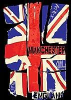 ポスター ウォールステッカー シール式ステッカー 飾り 728×1030㎜ B1 写真 フォト 壁 インテリア おしゃれ 剥がせる wall sticker poster pb1wsxxxxx-012698-ds ユニオンジャック 国旗 イギリス