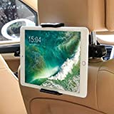 タブレット ホルダー車載ホルダー & スマホ ホルダー 車載 ステント 車後部座席用 車載ホルダー 360度回転可能 調整可能 4.5-10.5インチTablet用 スタンド Nintendo Switch/kindle HD/iPad 2/3/4/mini/air/Galaxy Tab/Google Nexusn対応