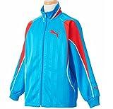 PUMA ウォームアップ プーマ【PUMA】 DRY CELL トレーニングジャケット ウォームアップウェア 上 長袖 150サイズ(145-155cm)  903425 ブルーアスター 国内正規品