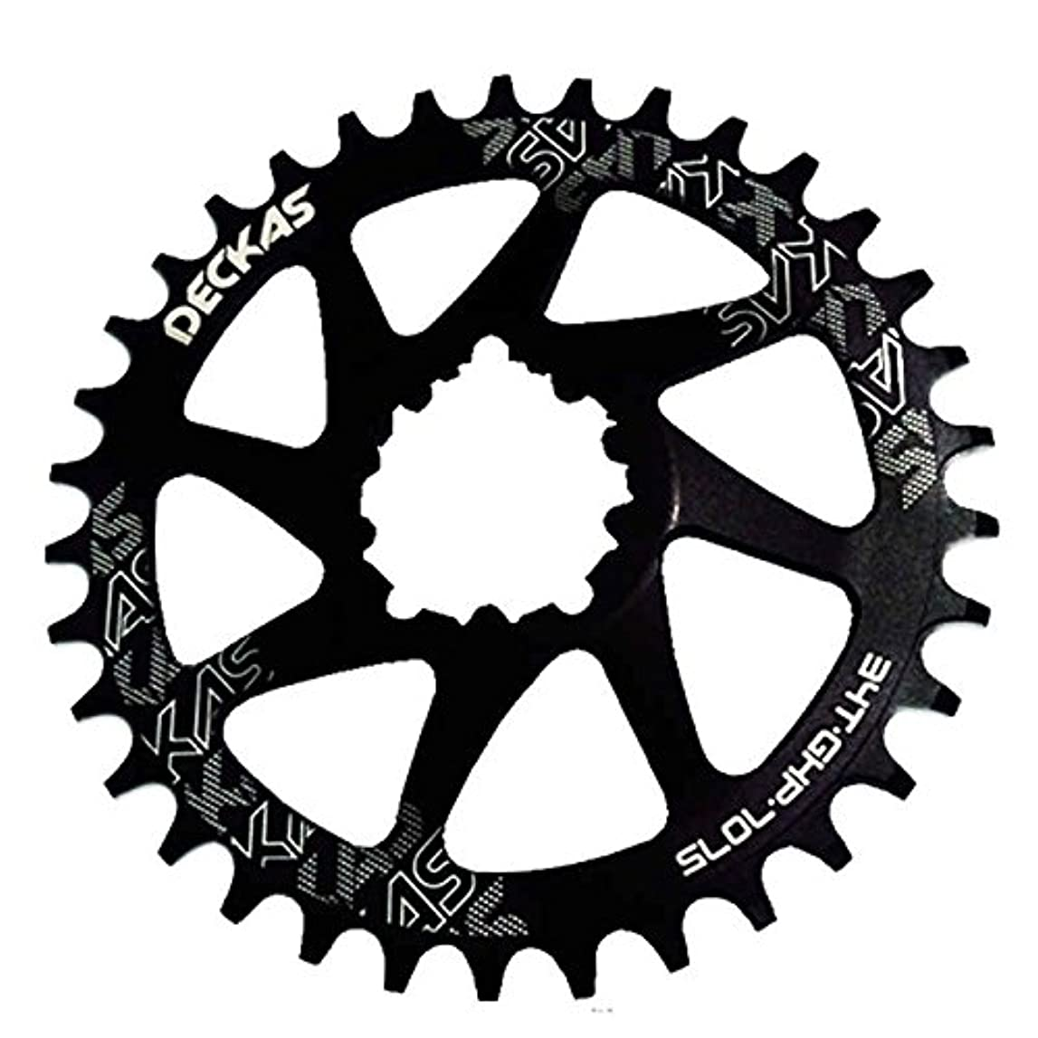 ポジティブ渇き励起Propenary - GXP bicycle crankset Al 7075 CNC32T 34T Narrow Wide Chainring Chainwheel for Sram XX1 XO1 X1 GX XO X9 crankset bicycle parts [ 34T Black ]