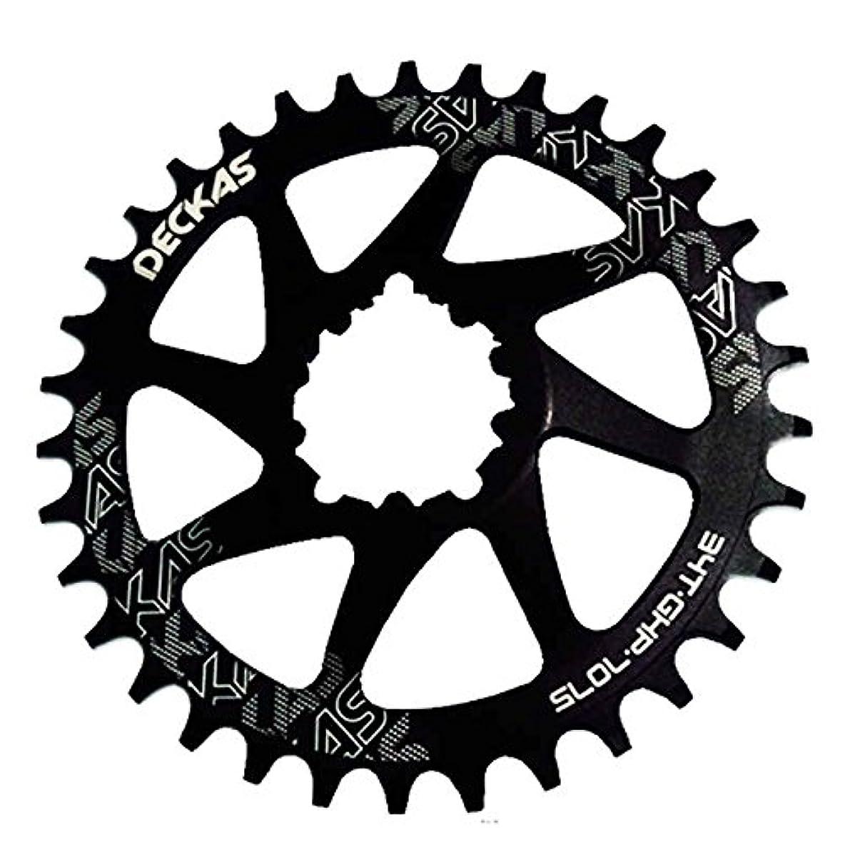 にぎやか公爵登山家Propenary - GXP bicycle crankset Al 7075 CNC32T 34T Narrow Wide Chainring Chainwheel for Sram XX1 XO1 X1 GX XO X9 crankset bicycle parts [ 36T Black ]
