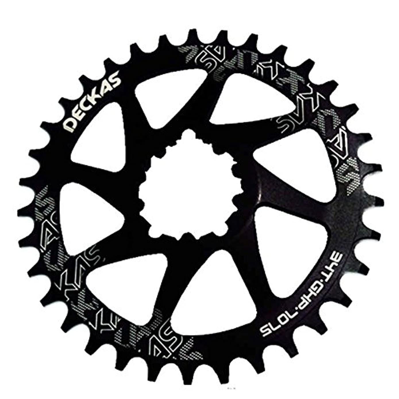 ペースフルーツ羽Propenary - GXP bicycle crankset Al 7075 CNC32T 34T Narrow Wide Chainring Chainwheel for Sram XX1 XO1 X1 GX XO X9 crankset bicycle parts [ 38T Black ]