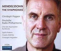 メンデルスゾーン:交響曲第1番 - 第5番(ザールブリュッケン・カイザースラウテルン・ドイツ放送フィル/ポッペン)
