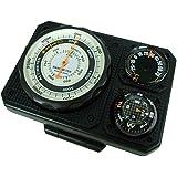 evertrust(エバートラスト) 高度計 コンパス 気圧計付き ブラック NO1230