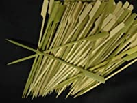 Happy Sales Tapered Heavy Bamboo Skewers 7 Inch 100 pcs by Happy Sales